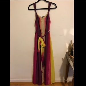 Rainbow Maxi Gianni Bini Dress